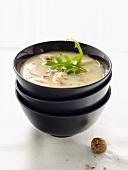 Bohnensuppe mit Muskat