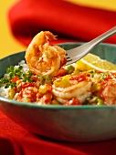 Southern style shrimps with rice (USA)