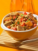 Tofu and peanut stew