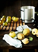 Quinces for preserving