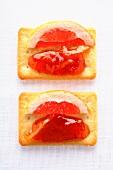 Marmellata rustica al pompelmo (grapefruit marmalade)