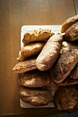 Loaves of Wood Fired Baked Bread