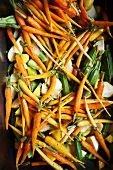 Medley of Vegetables Ready for Roasting