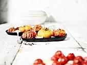 Braised tomatoes