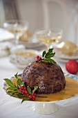 Christmas pudding (UK)