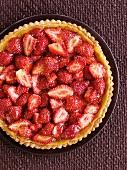 A strawberry and orange tart