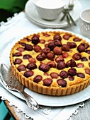 Cherry clafoutis (France)