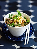 Pad Thai (fried noodles) with tofu