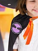 Mädchen im Halloween-Kostüm