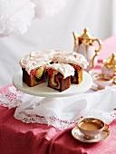 Eleganter Marmorkuchen