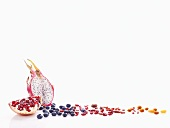 Red fruit and berries