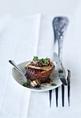Fillet of beef with grilled porcini mushrooms