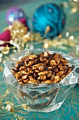 Spiced almonds for Christmas