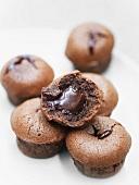 Little chocolate lava cakes