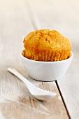 Muffin im Schälchen