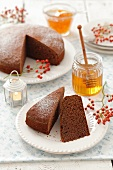 Honey cake for Christmas