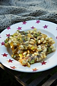 Almond-pistachio brittle (Bonfire Night, England)
