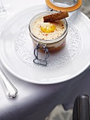 Oeuf cocotte (baked egg)