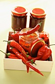 Chilli peppers and chilli preserves