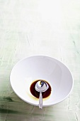Balsamic vinegar in a bowl