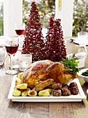 Turkey with ham dumplings (Christmas)