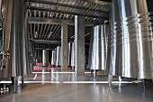 Stainless steel tanks: Bodegas Portia Gruppo Faustino, Ribera Del Duero (Spain)
