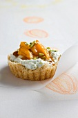Apricot knafeh