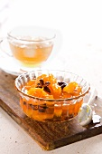 Apricot and loquat jam with star anise