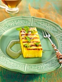 Pina a la plancha (grilled pineapple, Spain)