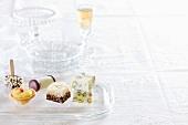 Dolci assortiti (assorted Italian desserts)