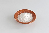 A bowl of arrowroot starch