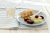 Tzatziki with kalamata olives (Greece)