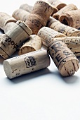 Various wine corks