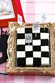 Chessboard jelly