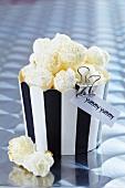 Popcorn in Muffinförmchen