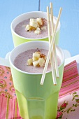 Banana and fig shake