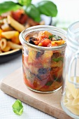 Caponata (pickled Italian vegetables)