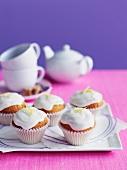 Cupcakes mit Zitronenglasur
