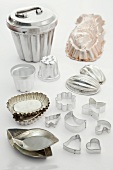 Various baking tins and cutters