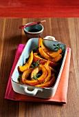Ayurveda - oven-roasted pumpkin