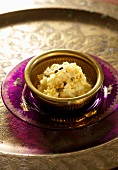 Rice pudding with saffron and cardamom (Ayurvedic cuisine)