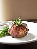 Beef Fillet with Rosemary and Green Beans