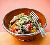 A lamb dish