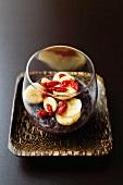 Black rice dessert