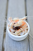 Prawns with aniseed (France)
