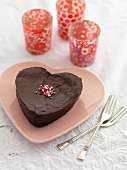 Chocolate heart for Valentine's Day