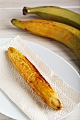 A fried plantain