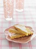 Gluten-free lemon shortcake