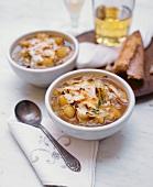 Apfel-Kohl-Suppe mit Thymian