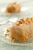 Kadaif (Bulgarian dessert)